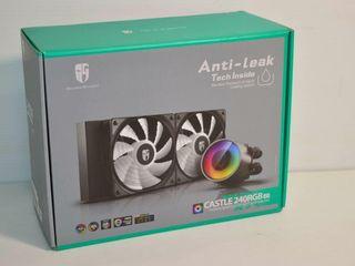 Gamers Storm Castle 240RGB liquid CPU Cooler
