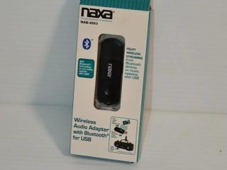 Naxa Wireless Audio Adapter with Bluetooth