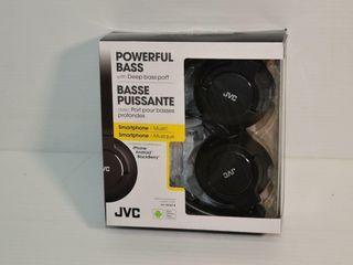 JVC Stereo Headphones HA SR185 B