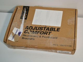 Adjustable Headboard and Footboard Brackets
