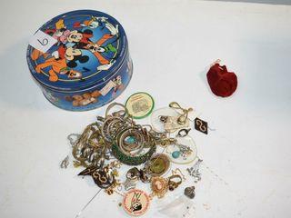 Tin of Estate Jewelry