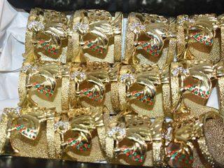 12  Christmas Angel Napkins Rings
