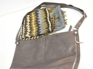 Roots Handbag and Pashmina Scarf