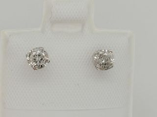 14K White Gold Diamond 0 45Ct I2 I3 G H
