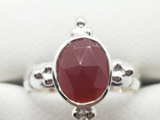 Silver Carnelian Ring  Approx value  80