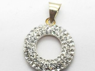 10K Yellow Gold Cz 0 8G Pendant