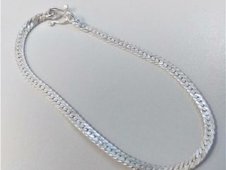 Sterling Silver Anklet  Approx value  60 00