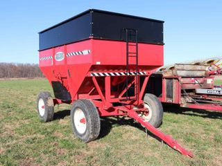 BRUNS 400 GRAVITY WAGON W  HORST 205 D R  GEAR