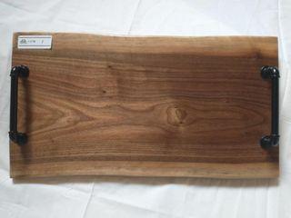 Handmade Walnut Serving Tray