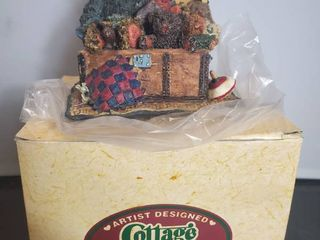 Cottage Collectibles  Bears in Hope Chest  Collectible Figurine