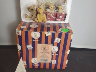 Trunk of Teddies  by Penny whistle lane  from Enesco