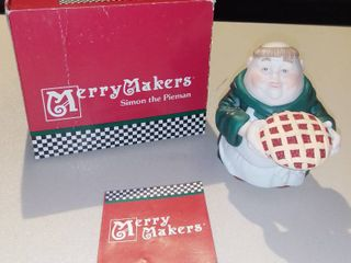 Department 56 Merry Makers Simon The Pieman Figurine