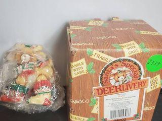 Enesco Santa s Special Deerlivery Socks Figurine  1994