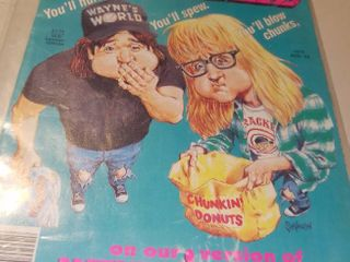 Cracked Magazine  273 August 1992 Waynes World