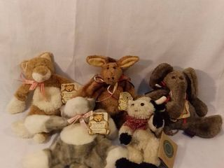lot of 5 Boyds Bears with Original Tags Investment Collectibles Bears in the Attic