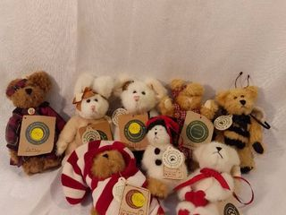 lot of 8 Boyds Bears with Original Tags The Archive Collection