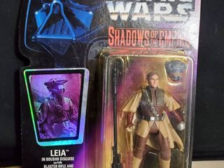 leia in Boushh Disguise Action Figure Star Wars Expanded Universe