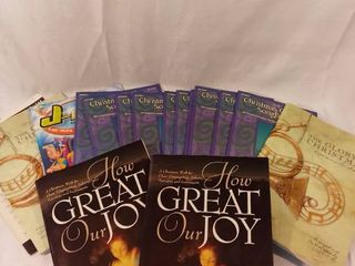 lot of 15 Christmas Church Songs Choral Sheet Music Books