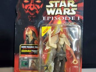 Star Wars Episode I  Jar Jar Binks  naboo Swamp  W  Fish   Commtech Chip 4