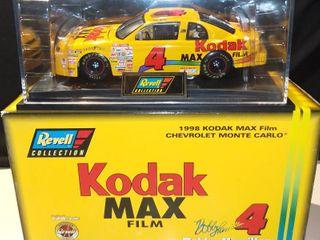 Revell Bobby Hamilton  4 1998 Kodak Max Film Chevrolet Monte Carlo 1 24 Scale Diecast Replica