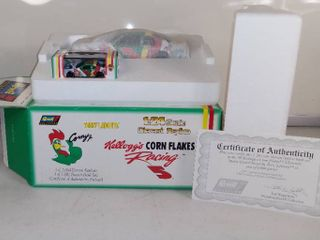 Revell Collection Kellogg s Corn Flakes Terry labonte And Corny Jr  Diecast Replica And Bank Sets