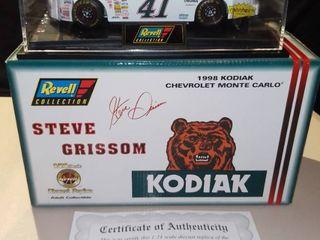 Revell Steve Grissom  41 1998 Kodiac Chevrolet Monte Carlo Diecast Replica