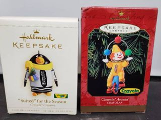 lot of 2 Hallmark Keepsake  Crayola Editions