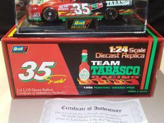 Revell Todd Bodine  35 1998 TEAM TABASCO Pontiac Grand Prix 1 24 Scale Diecast Replica