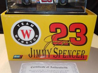 Revell Jimmy Spencer  23 1999 Team Winston Ford Taurus 1 24 Scale Diecast t