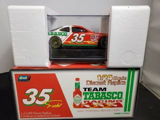 REVEll Team Tobasco Racing 1 24 Scale Diecast Replica   35 car with Certificate of Authenticity