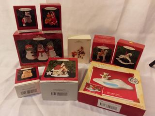 Hallmark Keepsake Ornament Various Christmas Ornaments