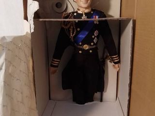 The Prince Charles Bridgeroom Doll in Original Box