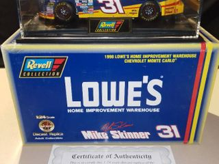 Revell Mike Skinner  31 1998 lowes Chevrolet Monte Carlo 1 24 Scale Diecast Replica