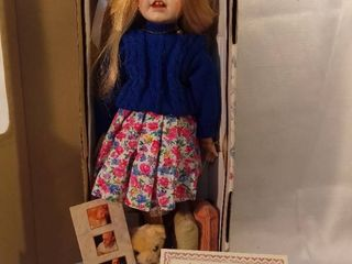 lexington Hall Hand Painted and Crafted Doll by Gustave and Gretchen Wolff