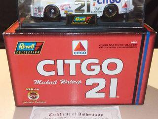 Revell Michael Waltrip  21 1997 Citgo Ford Thunderbird 1 24 Scale Diecast Replica
