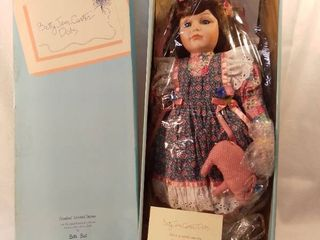 Betty Jane Carter Dolls An Original limited Edition Musical Porcelain Doll by Bette Ball