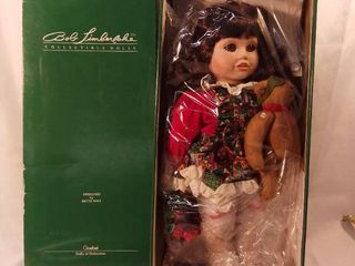 Bob Timberlake Collectible Dolls Designed by Bette Ball in Orignal Box Porcelain Doll