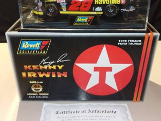 Revell Kenny Irwin  28 1998 Texaco Ford Taurus 1 24 Scale Diecast Replica