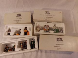 lot of 3 The Heritage Collection Christmas Figurines