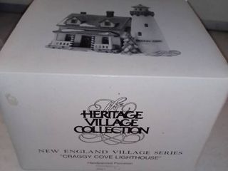 The Heritage Village Collection New England Craggy Cove lighthouse