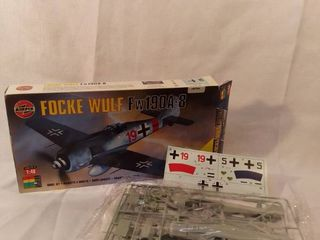 Airfix 1 48 Focke Wulf   Fw190a 8   In Open Box