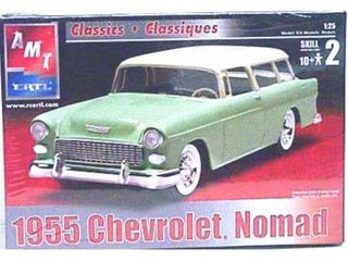 AMT Ertl 1955 Chevrolet Nomad   1 25 Scale Model Kit
