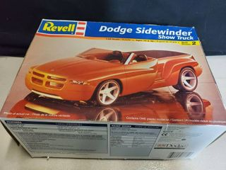 Revell Dodge Sidewinder Show Truck Model Kit 1 25 Scale Sealed