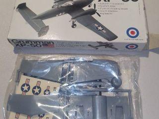 WWII Series Grumman XP 50 1 55 Scale Model Kit