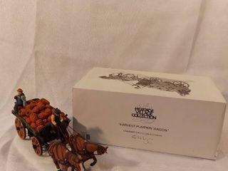 The Heritage Village Collection Fall Harvest Pumpkin Wagon