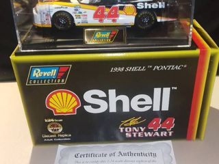 Revell Tony Stewart  44 1998 Shell Pontiac 1 24 Scale Diecast Replica Bank