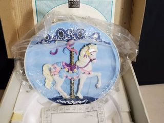 RHODE STUDIOS SWEET STANDER  Musical Wall Hanging Plate woth Certificate of Authenticity