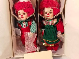 Marie Osmond Fine Porcelain Twins Collector Dolls Hand Numbered Hand Painted limited Edition