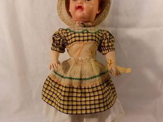 Vintage 1950s Doll Unknown Brand