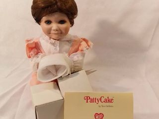 Patty Cake By Terri DeHetre Porcelan Doll